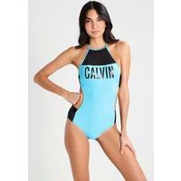 Calvin Klein Swimwear INTENSE POWER Kostium kąpielowy blue C1181D00K