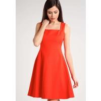 Karen Millen Sukienka koktajlowa orange KM521C03S