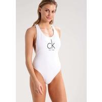 Calvin Klein Swimwear Kostium kąpielowy white C1181D01C