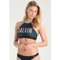 Calvin Klein Swimwear INTENSE POWER Góra od bikini blue C1181D00E
