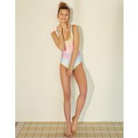 Pull&Bear Kolorowy dwustronny kostium kąpielowy 5802/303