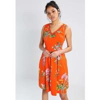 Derhy MANSARDE Sukienka letnia orange RD521C0A4