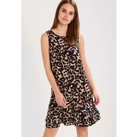 Moves INGRID Sukienka letnia golden brown MOD21C005