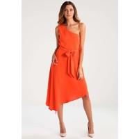 Warehouse ONE SHOULDER Sukienka letnia orange WA221C0AW