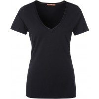 BOSS Orange VIENIS - T-shirt basic - czarny
