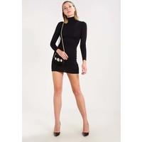Missguided ROLL NECK 2 PACK Sukienka z dżerseju black/camel M0Q21C0BL
