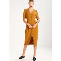 Selected Femme SFANN Sukienka letnia golden brown SE521C0EZ