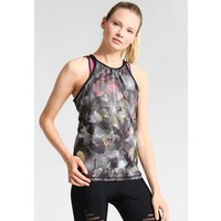 PrAna BALLETIC Top black digi flower PF641D00W