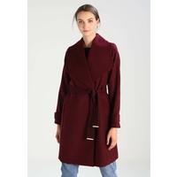 Dorothy Perkins TIE BELT Płaszcz wełniany /Płaszcz klasyczny purple DP521U00R