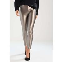 Twist & Tango ARLEEN Spodnie materiałowe gold metallic TW121A00T