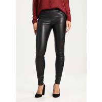 Mos Mosh LUCY Spodnie skórzane black MX921A032