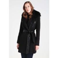 Morgan Płaszcz wełniany /Płaszcz klasyczny black M5921U002