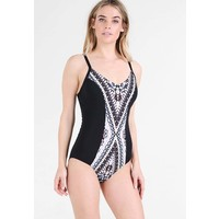 Seafolly INDIANSUMMER CUP MAILLOT Kostium kąpielowy black S1981G002