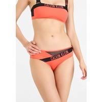 Calvin Klein Swimwear HIPSTER Dół od bikini hot coral C1781I000