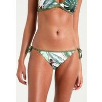 Seafolly PALM BEACH BRAZILIAN TIE SIDE Dół od bikini moss S1981I00O