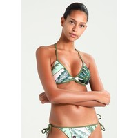 Seafolly PALM BEACH ACTION BACK TRI Góra od bikini moss S1981J00O