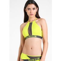 Calvin Klein Swimwear HIGH NECK CROP Góra od bikini evening primr C1781J000