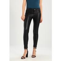 SET Spodnie skórzane black S1721A01N