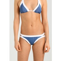 Seafolly BLOCK PARTY BRAZILIAN PANT Dół od bikini denim S1981D03F