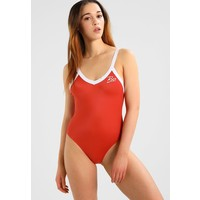 RVCA REAL TALK ONE PIECE Kostium kąpielowy red clay RV481G003