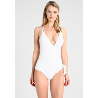 La Perla ONYX COLLECTION SPECIAL SWIMSUIT SENZA FERRO Kostium kąpielowy white 2LP81G000