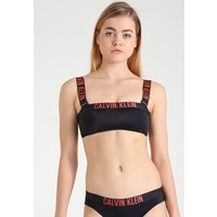 Calvin Klein Swimwear INTENSE POWER MESH BANDEAU-RP Góra od bikini black C1781J001