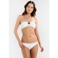 MICHAEL Michael Kors LOGO RING BANDEAU CLASSIC BOTTOM SET Bikini white MK181L000