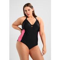 Junarose JRVILIA JEANNE SWIMSUIT Kostium kąpielowy black beauty/azalea pink JR481G003