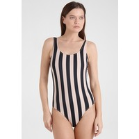 Weekday DAY PRINTED SWIMSUIT Kostium kąpielowy black WEB81G00D