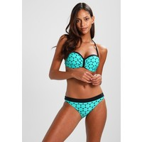 s.Oliver RED LABEL BANDEAU SET Bikini turquoise/black SO281L003