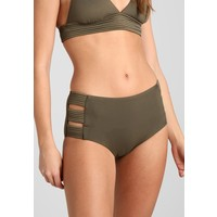 Seafolly HIGH WAISTED PANT Dół od bikini dark olive S1981I007