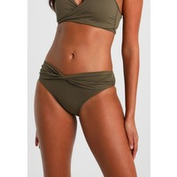 Seafolly SEAFOLLY TWIST BAND HIPSTER Dół od bikini dark olive S1951L01C
