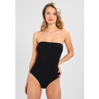 NON COMMUN ACHILE STRAPLESS ONE PIECE Kostium kąpielowy black NOI81G001