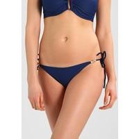 Heidi Klein CORE ROPE TIE SIDE BOTTOM Dół od bikini navy HK381I006
