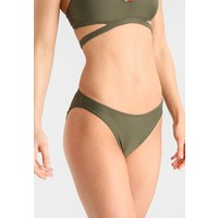 Calvin Klein Swimwear CLASSIC Dół od bikini green C1781I00B