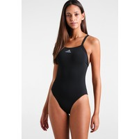 adidas Performance SWIM INF+ Kostium kąpielowy black/grey AD581G00D