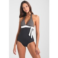 s.Oliver RED LABEL SWIMSUIT Kostium kąpielowy black/grey SO281G002