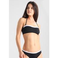 Calvin Klein Swimwear NOS LOGO BANDEAU-RP Góra od bikini black C1181J001