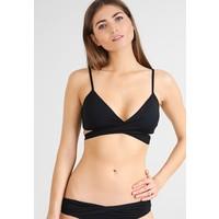 Seafolly WRAP FRONT BRALETTE Góra od bikini black S1981D0CH