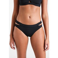 Seafolly ACTIVE SPLIT BAND HIPSTER Dół od bikini black S1941H04O