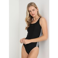 adidas Performance FIT SUIT Kostium kąpielowy black/white AD181G001