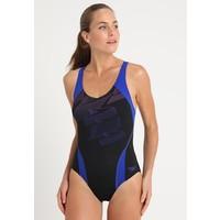 Speedo BOOM Kostium kąpielowy black/blue 1SP81G02M