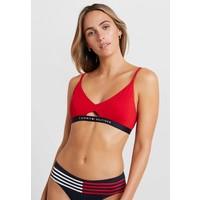 Tommy Hilfiger CORE SOLID LOGO BRALETTE Góra od bikini tango red TO181J00R