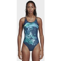 adidas Performance Parley Commit Swimsuit Kostium kąpielowy blue AD581G026