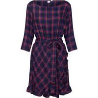 Gap Sukienka 'RFL HEM WRAP DRS - PLAID' GAP1223001000001