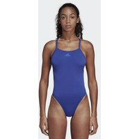 adidas Performance STRIPES SWIMSUIT Kostium kąpielowy blue AD541K02I