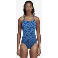 adidas Performance ALLOVER PRINT SWIMSUIT Kostium kąpielowy blue AD581G029