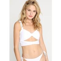 Vero Moda VMFUSCHIA SWIM MONO Góra od bikini bright white VE181J00H