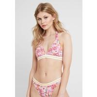 Esprit SUNRISE BEACH HALTERNECK PADDED Góra od bikini pink/fuchsia ES181J0AN