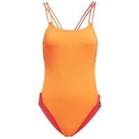 adidas Performance WATCH MY BACK SWIMSUIT Kostium kąpielowy orange AD541I0AJ